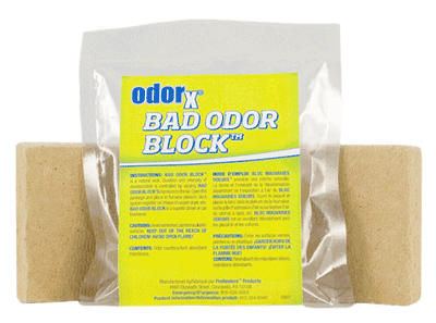 Bad Odor Block, Lemon-Lime