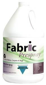 Fabric Prespray, Gl