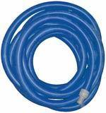 Vacuum Hose w/Cuffs , Blue 1.5