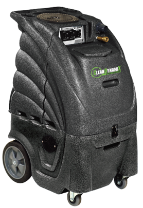 Carpet Extractor by Clean Dynamix | Dual 2-Stage Vac and Heated 100 psi