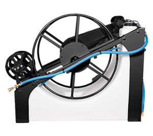 Water Pond w/ Electric Hose Reel