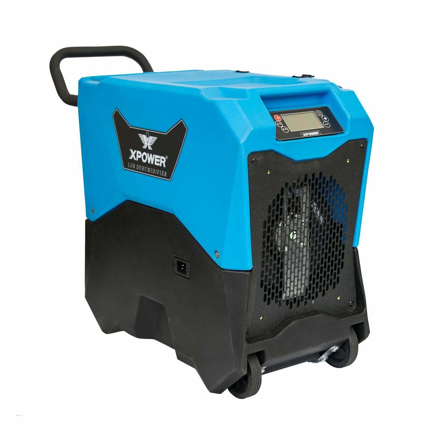 XPOWER XD-75LH Commercial LGR Dehumidifier w/ Handle & Wheels