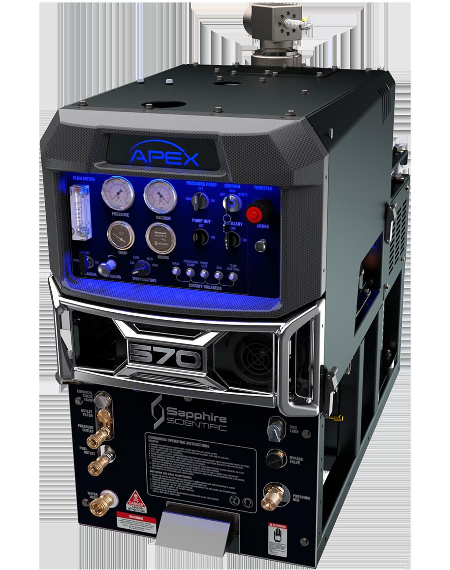 Apex 570 Truckmount (90 gal waste tank)
