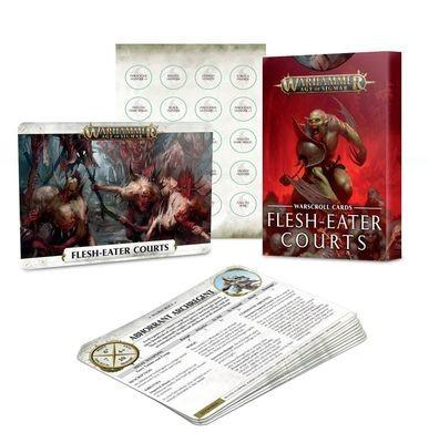 Warscroll Cards: Flesh-eater Courts (Deutsch) - Warhammer Age of Sigmar- Games Workshop