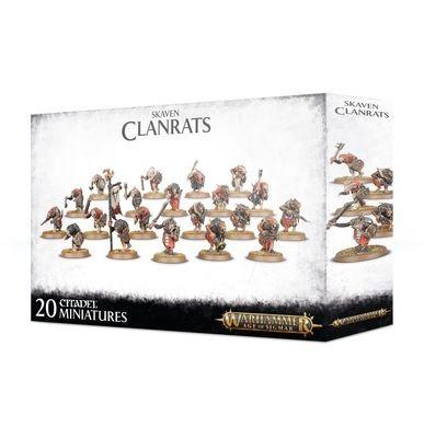 Clanrats Skaven - Warhammer Age of Sigmar - Games Workshop