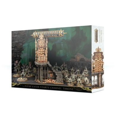 Charnel Throne Flesh Eater Courts - Warhammer Age of Sigmar - Games Workshop