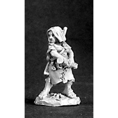 Melantha, Female Halfling - Reaper Miniatures