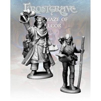 Astromancer & Apprentice - Frostgrave - Northstar Figures