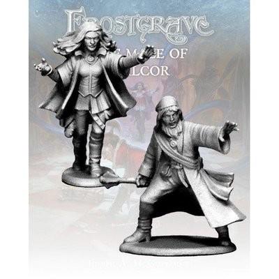 Distortionist & Apprentice - Frostgrave - Northstar Figures