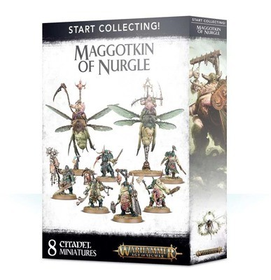 Start Collecting! Maggotkin of Nurgle - Warhammer Age of Sigmar- Games Workshop