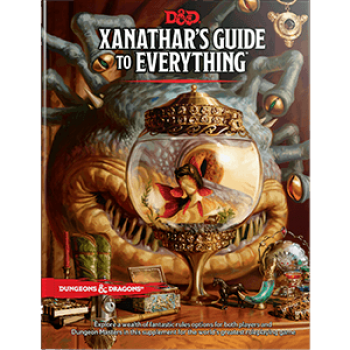 D&D Dungeons & Dragons RPG - Xanathar's Guide to Everything - EN