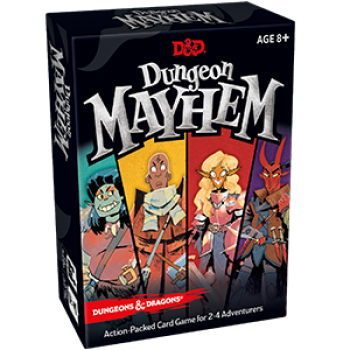 D&D Dungeon Mayhem - DE - Kartenspiel - Pegasus Spiele