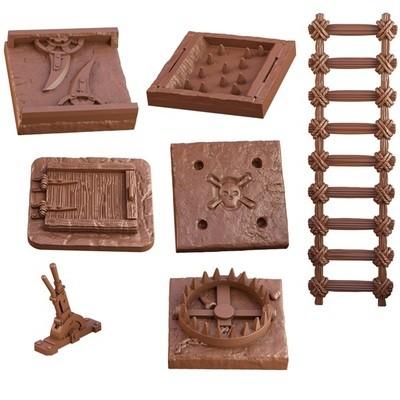Terrain Crate: Dungeon Traps - EN - Mantic Games