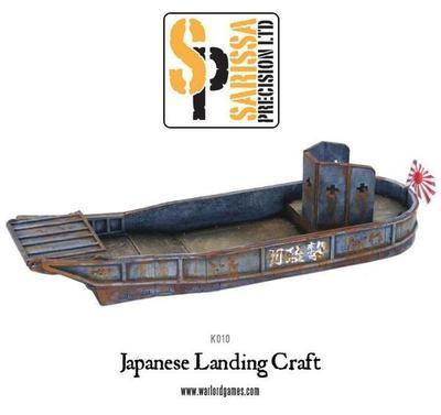 Japanese Landing Craft type 'Super A' - Sarissa Precision - Warlord Games