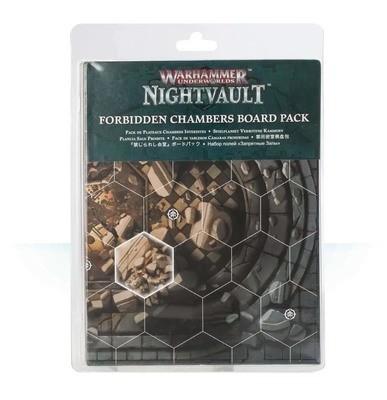 Spielpläne für Warhammer Underworlds: Nightvault – Verbotene Kammern Forbidden Chambers Board Pack - Games Workshop