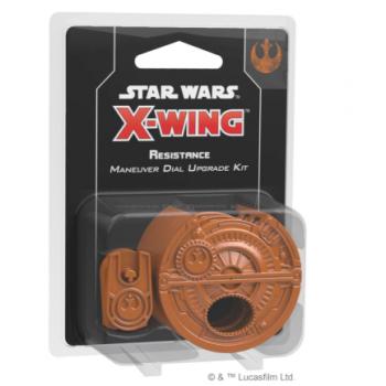 FFG - Star Wars X-Wing: Resistance Maneuver Dial Upgrade Kit - EN