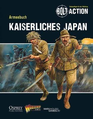 Armeebuch Kaiserliches Japan - Bolt Action - deutsch
