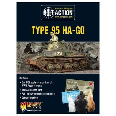 Japanese Type 95 Ha-Go light tank - Bolt Action - Warlord Games
