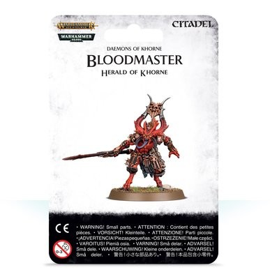 Bloodmaster, Herald des Khorne - Warhammer Age of Sigmar - Games Workshop