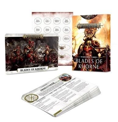 Warscroll Cards: Blades of Khorne (Englisch) - Warhammer Age of Sigmar - Games Workshop