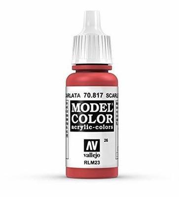 Scarlet Model Color - Vallejo - Farben