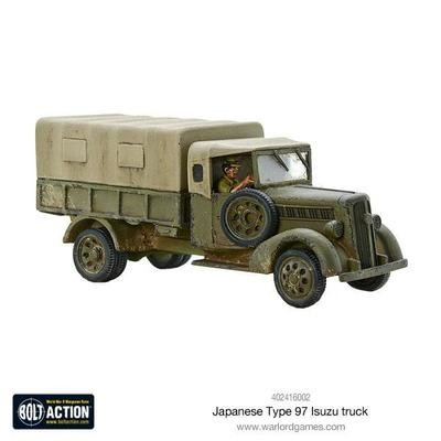 Japanese Type 97 Isuzu truck - Bolt Action