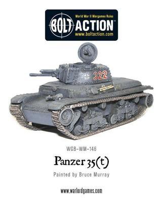 Panzer 35(t) - German - Bolt Action