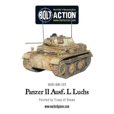 Panzer II Ausf. L Luchs - German - Bolt Action