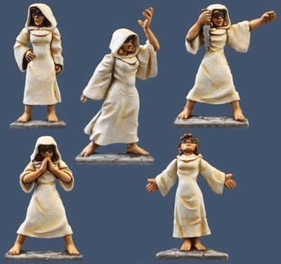 Female Cowled Cultists - Frostgrave - Northstar Figures