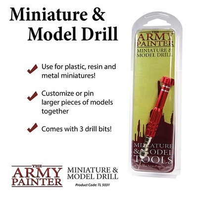 Miniature and Model Drill - Army Painter