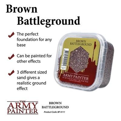 Battlefields: Battlefields: Brown Battleground basing - Army Painter