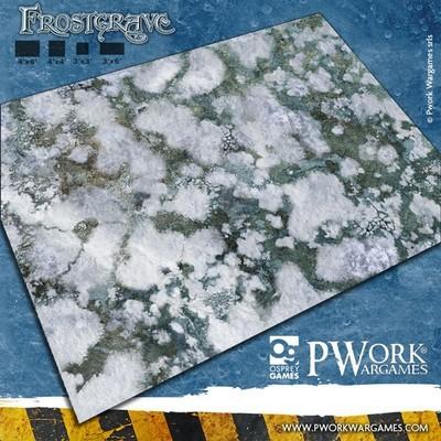 Frostgrave - Wargames Terrain Mat PVC Vinyl - 3x6 - PWork Wargames