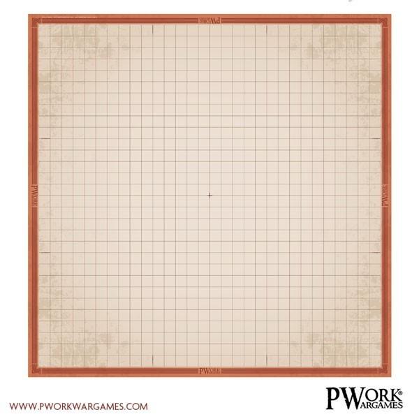 RPG Battlegrid - Rollenspielmatte Mat PVC Vinyl - 30x30