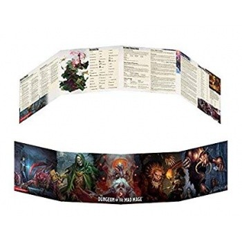 Dungeons and Dragons D&D Dungeon of the Mad Mage - DM Screen - EN