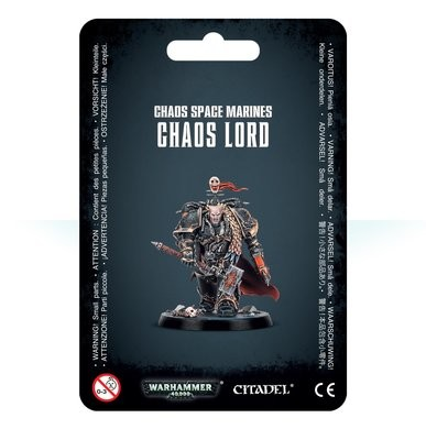 Chaos Space Marines Chaos Lord - Warhammer 40.000 - Games Workshop
