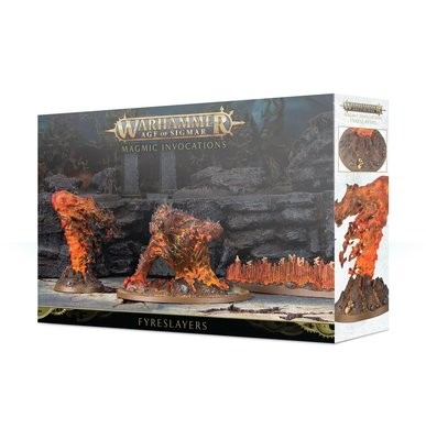 Magma-Anrufungen Magmic Invocations Fyreslayers - Warhammer Age of Sigmar - Games Workshop