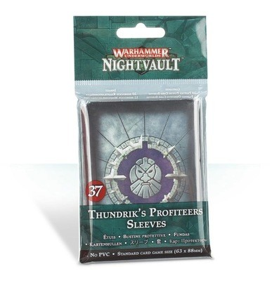 Kartenhüllen für Thundriks Profitjäger Sleeves - Games Workshop