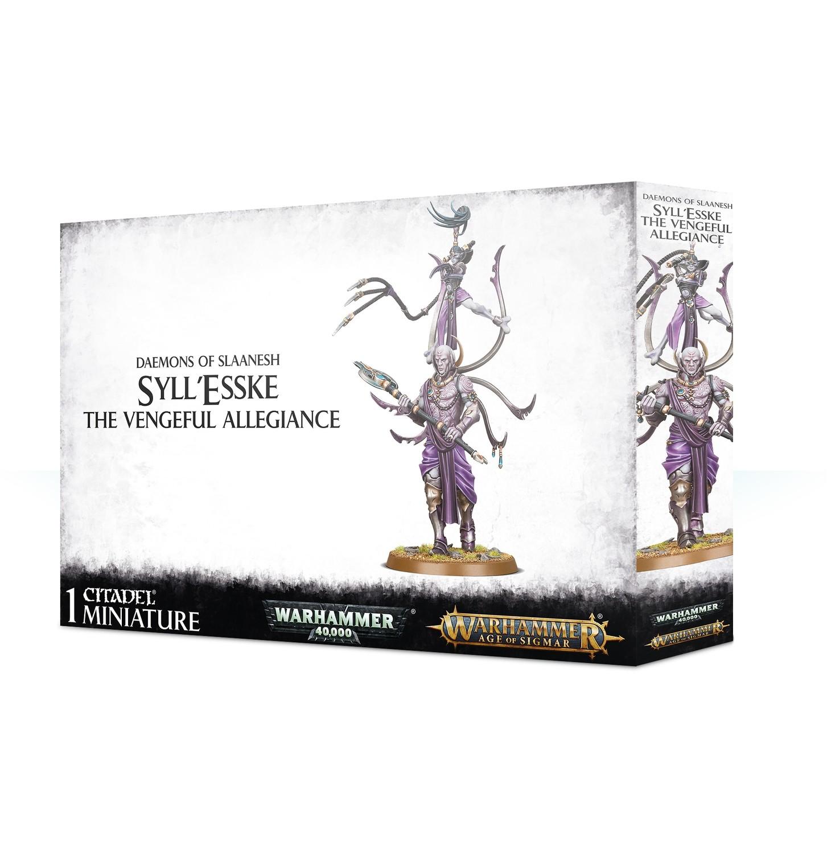 Syll'Esske: The Vengeful Allegiance - DAEMONS OF SLAANESH - Warhammer Age of Sigmar - Games Workshop