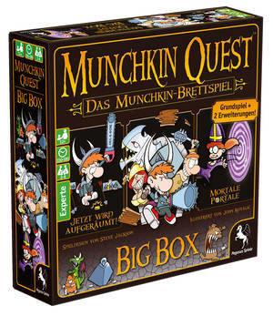 Munchkin Quest (Big Box) - Pegasus Spiele