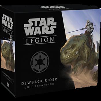 Star Wars Legion: Dewback Rider Taurücken-Reiter Unit Expansion - DE/IT - Fantasy Flight Games