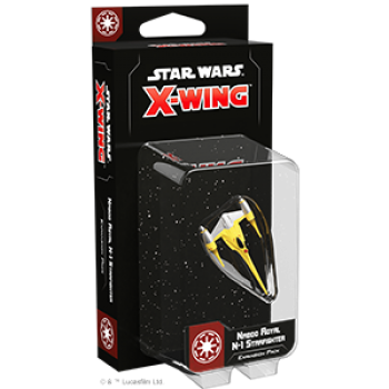Star Wars X-Wing: Naboo Royal N-1 Starfighter Expansion Pack - DEUTSCH