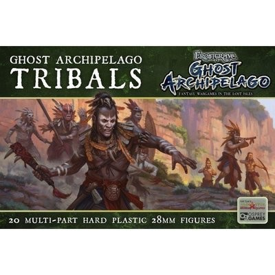 Ghost Archipelago Tribals - Frostgrave Ghost Archipelago