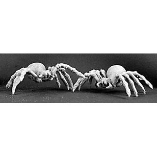 Giant Spiders (2) - Bones - Reaper Miniatures