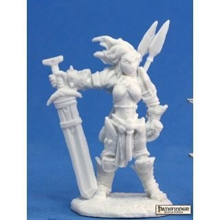 Amiri, Iconic Barbarian - Bones - Reaper Miniatures