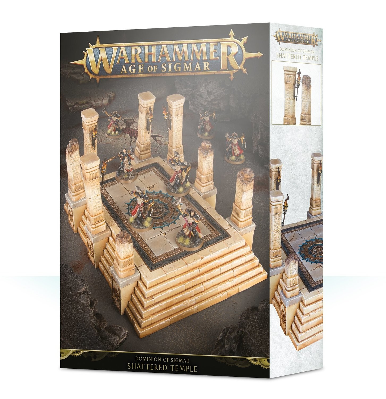 Dominion of Sigmar: Shattered Temple - Warhammer Age of Sigmar Gelände - Games Workshop