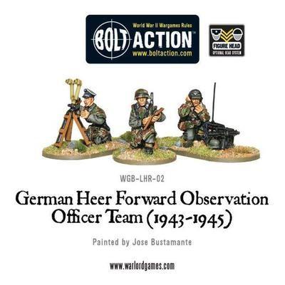 German Heer FOO team (1943-45) - Bolt Action - Warlord Games