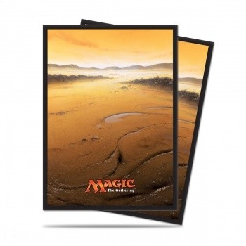 UP - Sleeves Standard - Magic: The Gathering - Mana 5 Plains (80 Sleeves)
