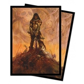 UP - Standard Sleeves - Frank Frazetta Art sleeves - Barbarian (100 Sleeves)