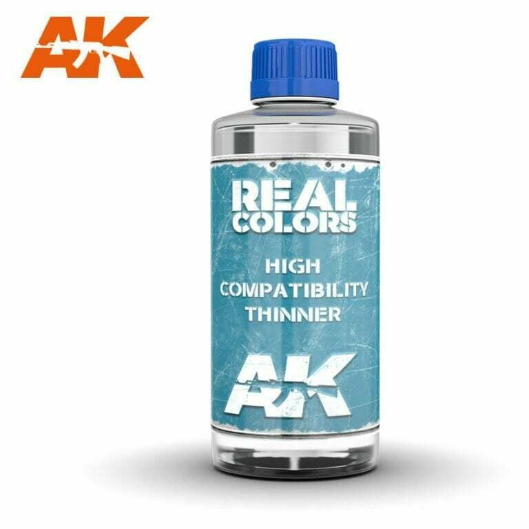 Real Colors Thinner 400ml. - AK Interactive