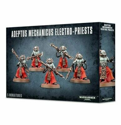 ADEPTUS MECHANICUS ELECTRO-PRIESTS - Warhammer 40.000 - Games Workshop